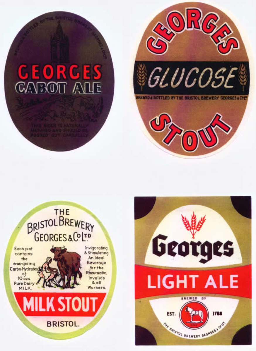 Georges Brewery Labels